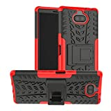 LUSHENG Case for Sony Xperia 10 Plus, Anti-Shock and