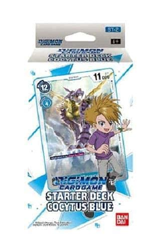 Digimon English TCG ST-2 Starter Deck Cocytus Blue - 54 Karten
