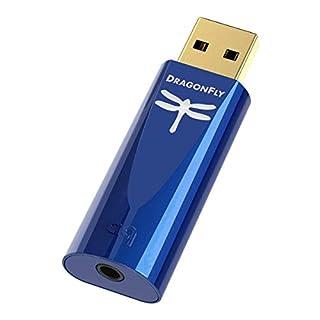 DAC USB + preamplificatore + amplificatore per cuffie Significativamente migliore audio da MP3, YouTube ecc High - End - Prestazioni di alta risoluzione MQA e maestro - i file Miglior processore DragonFly, amplificatore per cuffie e microcontroller d...