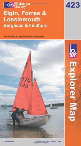 OS Explorer map 423 : Elgin, Forres & Lossiemouth