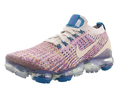 Nike Womens W Air Vapormax Flyknit 2 Running Shoes (Gridiron/Laser Orange/Pink Blast, Numeric_11)