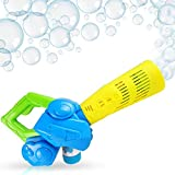 Happix Leaf Bubble Blower Machine with 4oz Bubbles Solution, Battery Operated Bubble Maker for Kids, Fun Outdoor Toys,Boys and Girls, Best Birthday in Cute Box