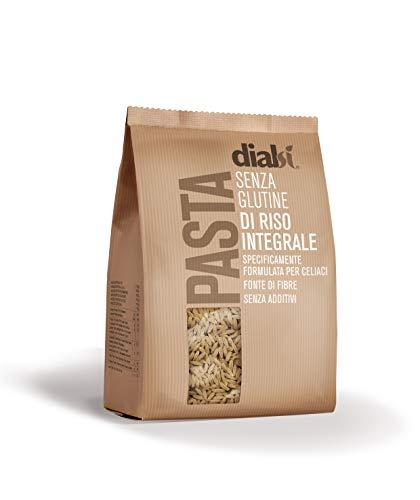 Dialsì Risoni Pasta senza Glutine di Riso Integrale, 400 gr
