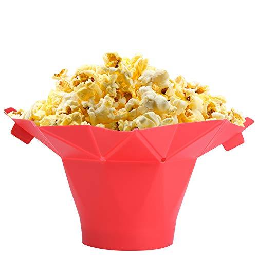 Popper de palomitas de maíz mágico de microondas, recipiente de ...