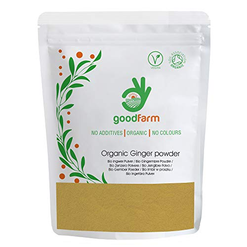 GoodFarm - Jengibre ecológico en polvo, 500 g