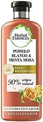 Herbal Essences bio:renew Acondicionador para volumen, Pomelo Blanco y Menta Mosa 400 ml, con ph neu