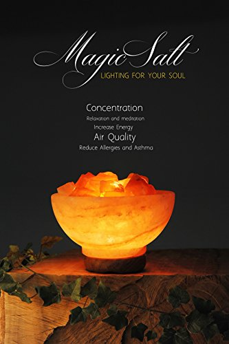 Lámpara de Sal del Himalaya - MAGIC SALT ® Lighting For Your Soul - (Cuenco de Fuego)