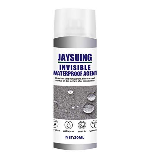 Kstyhome 30ml Agente impermeabilizzante Forte Adesivo Spray Adesivo sigillante Tetto Parete Esterna WC Colla Spray Trasparente