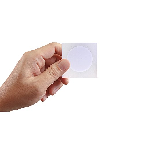 NFC NTAG213 Stickers/Tag/Adhesive Label RFID Tags with nxp213 Chip 180 Bytes Fast Read/Write/Lock Compatible with All NFC-Enabled Smartphones and Devices (20)