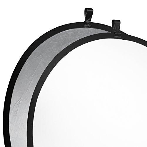 Walimex Faltreflektor (107 cm) silber/weiß