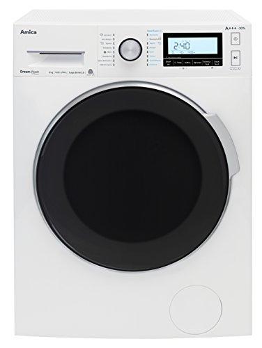 Amica WA 484111W autonome Belastung Bevor 8kg 1400tr/min A + + + Waschmaschine–Waschmaschinen (autonome, bevor Belastung, drehbar, links)