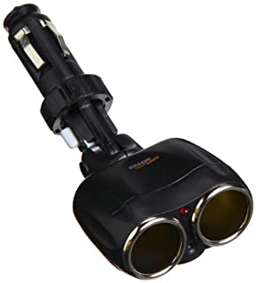 AmazonBasics Dual-Port Swivel Cigarette Lighter Adaptor in Black (B00511PTWM) | Amazon price tracker / tracking, Amazon price history charts, Amazon price watches, Amazon price drop alerts