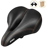 GRM Wear-Resistant PVC Leather Breathable Waterproof Bicycle Saddle