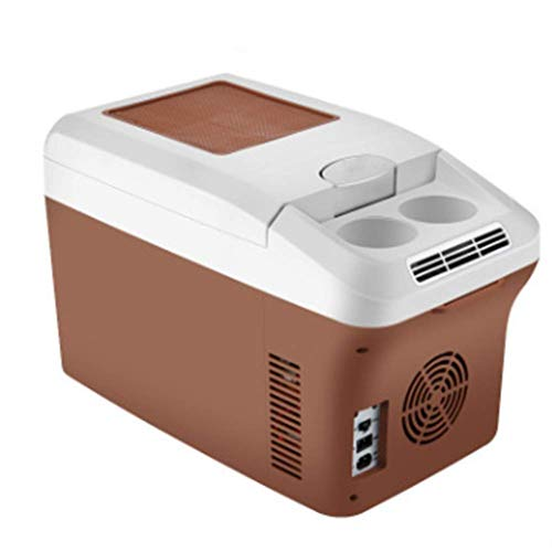 ZHTY Cool Box Electric 15 L car Mini Refrigerator, Cool and Warm Dual use 12V Vehicle Voltage Travel, self-Driving Tour, Camping, picnics The Best Choice for Summer Car Accessories Refrigerators