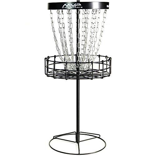 mvp black hole mini disc golf basket