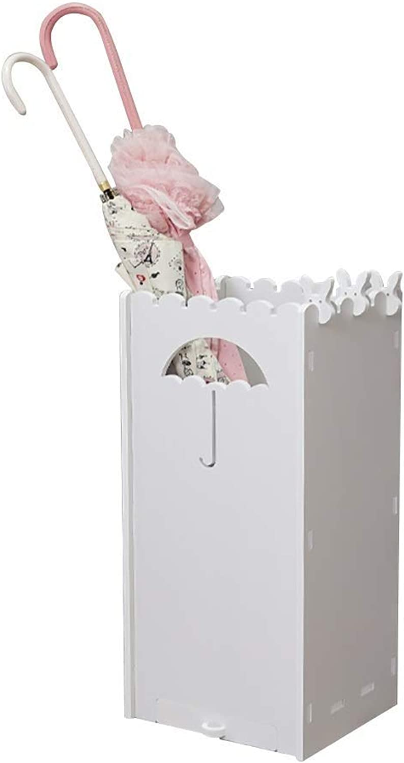 Umbrella Stand, Space Saving Organizer, WPC Board Free Standing Holder, for Indoor, Hallway (color   D)