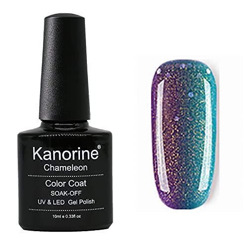 Kanorine™ Color Change Nagellack Gel, UV/LDE Farbgel, Thermo Farbwechsel Nagellack UV Gel Nagelgel, Nagel Kunst Farbgel Nagelgel