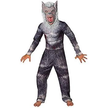 Morph Hombre Lobo Legendario Deluxe Disfraz - Grande - (9 - 11 ...