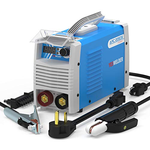 YESWELDER ARC Welder 205Amp Digital Inverter IGBT Stick MMA Welder,110/220V Dual Voltage Hot Start Portable Welding Machine