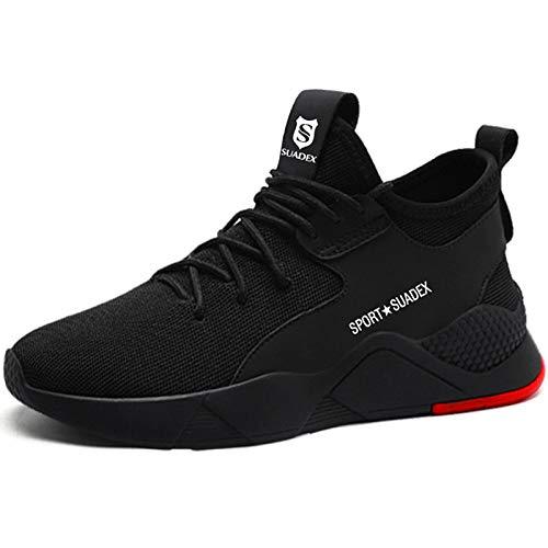 Zapatos De Seguridad para Hombre con Puntera De Acero Mujer Calzado De Trabajo Zapatos De Deportivos Transpirables Construcción Botas Trekking 36-48 EU