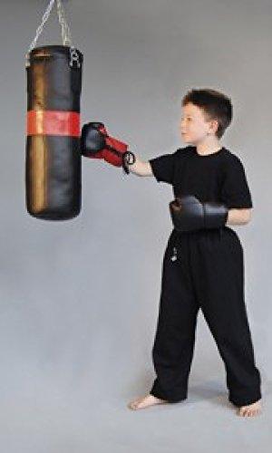 Junior Boxsack-Set, gefüllt 8kg + Boxhandschuhe, für Kinder