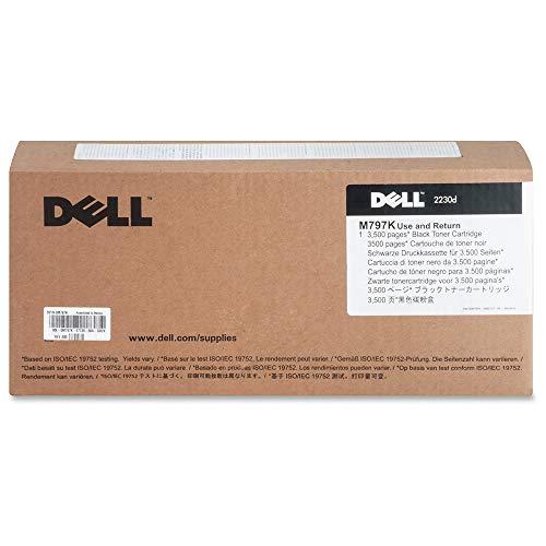 Genuine OEM brand name Dell Black Toner for 2230D (3.5K Yield) 330-4131 M797K
