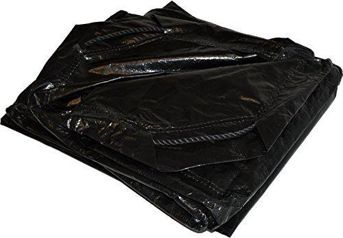6' x 6' Dry Top Black Drawstring 8-mil Poly Tarp Item #500660 by DRY TOP