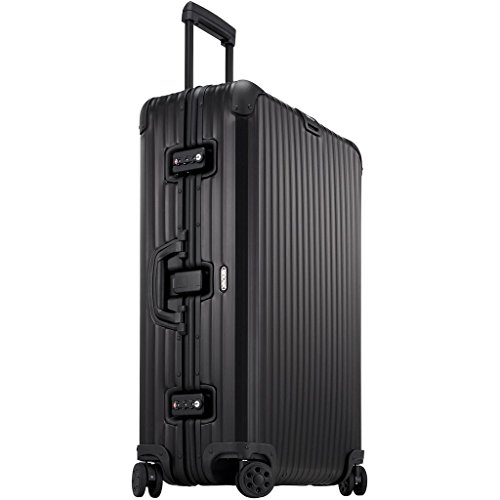 Review Of Rimowa Topas Stealth IATA Luggage 26 inch Multiwheel 64.0 L Matte Black