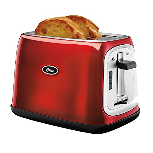 Oster 2 Slice Toaster Red