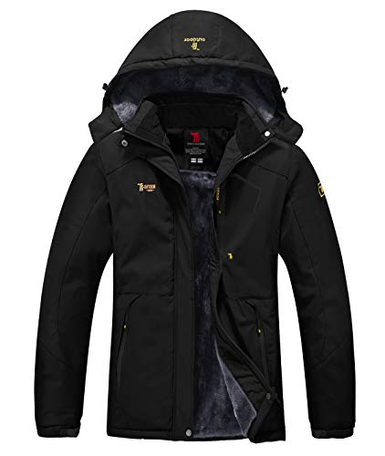 YSENTO Womens Waterproof Ski Jacket Winter Fleece Outdoor Mountain Jacket...
