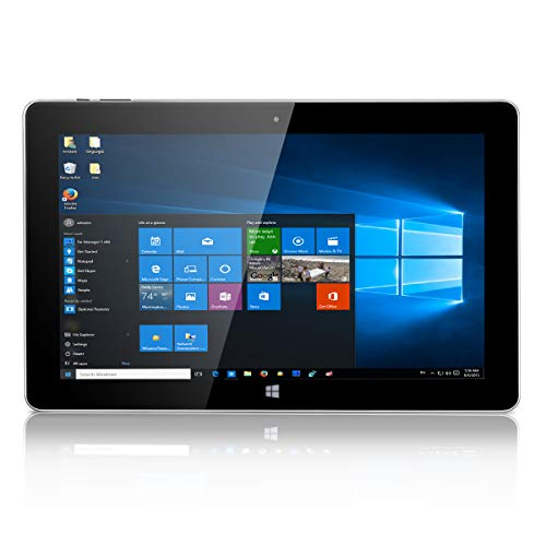 "Jumper EZpad 6S Pro Tablette PC Windows 10 11,6"" (Intel Apollo Lake N3450 Quad Core, 6 Go DDR3L RAM 128 Go SSD, 1920 x 1080 pixels, 9000 mAh, HDMI, BT 4.0) Argent"