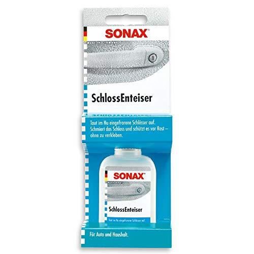SONAX SchlossEnteiser Thekendisplay (50 ml) pflegt, schmiert und schützt vor Rost, Feuchtigkeit und Nässe - ohne zu verkleben | Art-Nr. 03315410