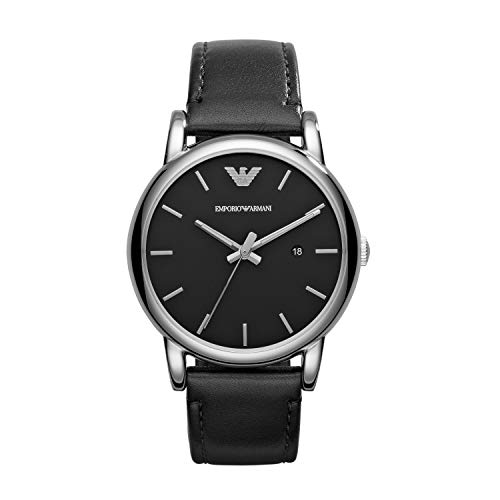 Price comparison product image Emporio Armani AR1692 Luigi Classic Leather Men's Watches