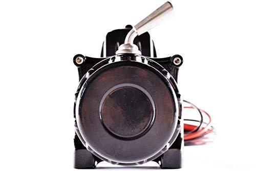 Cable de pl/ástico Torno de Cable el/éctrico para Quad ATV//UTV Ninja 4500LB 2 t 24 V Warrior WW45SPA24