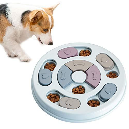 floatofly Hund Training Feeder Spaß interaktive Fütterungsbox Rack Feeder tragbare Spaß Sicherheit psychologische Praxis Spiel Welpen Lernspielzeug Blue