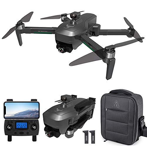 GoolRC SG906 MAX GPS Drone, 5G WiFi FPV Drone with 4K HD Camera, 3-Axis Gimbal, RC Quadcopter with Brushless Motor, Optical Flow Positioning, Obstacle Avoidance Function,Follow Me, Bag and 2 Batteries