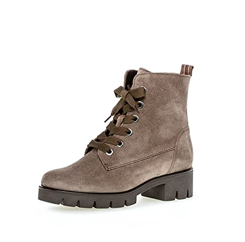 Gabor Damen Combat Boots, Frauen Biker- und Combat Boots,uebergangsstiefel,Lady,Ladies,Boots,Stiefel,Bootee,Booties,halbstiefel,Mohair,38 EU / 5 UK
