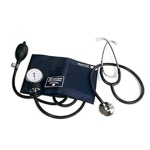 Aparelho de Pressão Aneróide com Estetoscópio Simples Adulto Premium