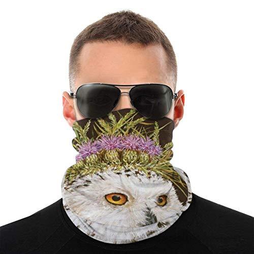 Nother Bandana de verano con diseño de búho, protección UV, protección contra el polvo, para correr, senderismo, motociclismo y ciclismo