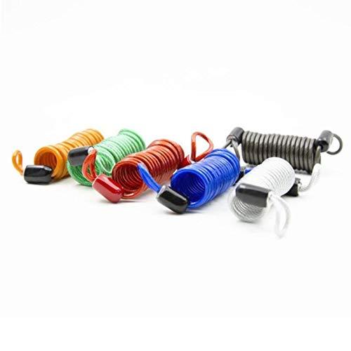 LTE 1 STK. Tragbares Fahrrad Mini Lock Feder Disc Sicherheitsschloss Feder Diebstahlsicherung Fahrrad Code Lock...