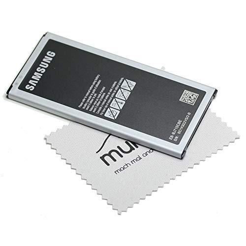 Batería para Samsung Original EB-BJ710 para Samsung Galaxy J7 2016 (J710F) con paño de limpieza de pantalla Mungoo