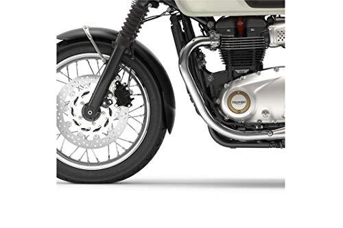 Puig Motorrad Kotflügel-Verlängerung vorne 9833N Triumph Bonneville T100/T120 16'-18', Schwarz