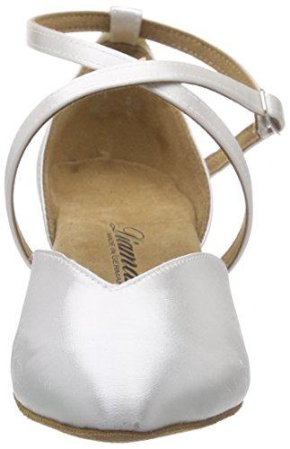 Diamant Brautschuhe Standard Tanzschuhe 107-013-092, Damen Tanzschuhe – Standard & Latein, Weiß (Weiß), 42 2/3 EU (8.5 Damen UK) - 2