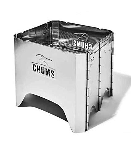 CHUMS(チャムス)ブービーフェイスフォールディングファイヤーピット ツールケース付き キャンプ アウトド...
