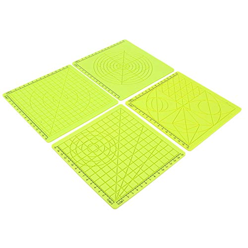 Safe Printing Template, Printing Silicone Mat, Guaranteed Quality Heat Resistant Office Equipment for 3D Printer 3D Printing 3D Drawing