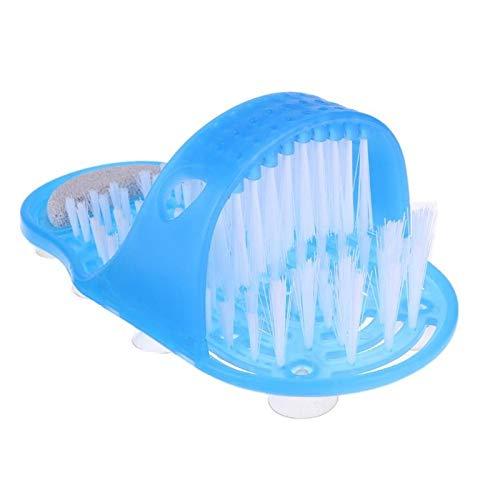LHAMM schoonmaakgereedschap Plastic Bad Schoen Douchegel Massager Slippers Bad Schoenen Borstel voor Voeten Pumice Stone Voet Scrubber Borstels Verwijder Dode Huid