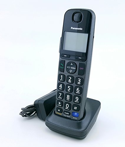 Panasonic KX-TGEA20T Accessory Replacement Handset With Charger, No batteries