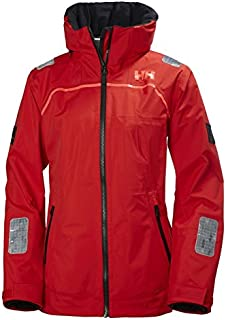 Helly Hansen Womens HP Foil Waterproof Lined Performance Jacket, Alert Red, X-Large
