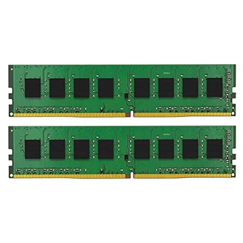 キングストン デスクトップPC用 メモリ DDR4 2666 8GBx2枚 CL19 1.2V Non-ECC DIMM 288pin KVR26N19S8K2/16