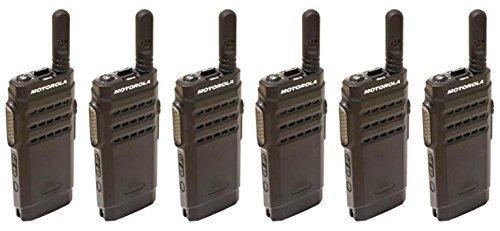 Motorola Mototrbo SL1600 VHF 1-3W Digital/Analog Two Way Radio - 6 Stück